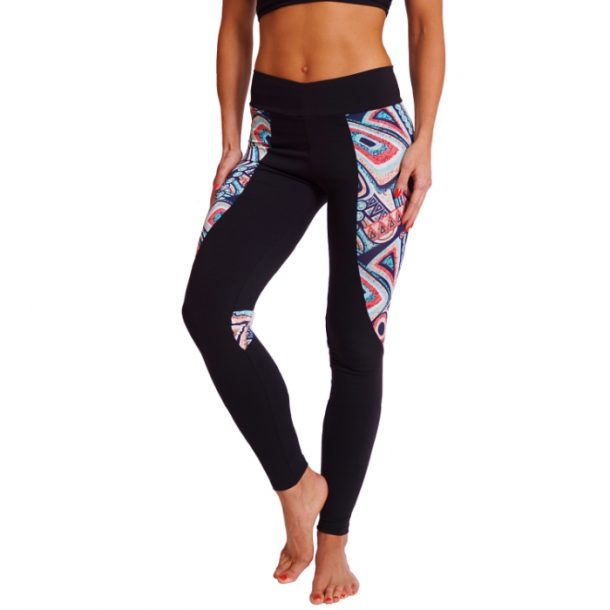 Stella Black & Tribal Print Gym Leggings