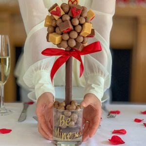 Personalised I Fudging Love You Valentines Sweet Trees
