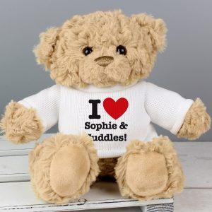 Personalised I HEART Teddy