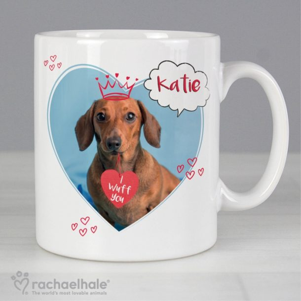 Personalised 'I Wuff You' Mug
