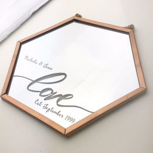 Personalised Love & Established Mirror
