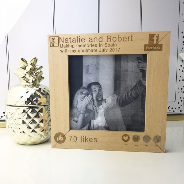 Personalised Making Memories Facebook Photo Frame