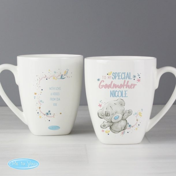 Personalised Me to You Godmother Latte Mug