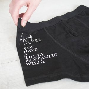 Personalised Men's You Have A Fantastic…Underwear