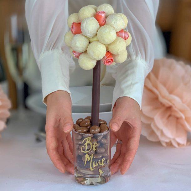 Personalised Valentines Gin & Tonic Truffle Sweet Trees