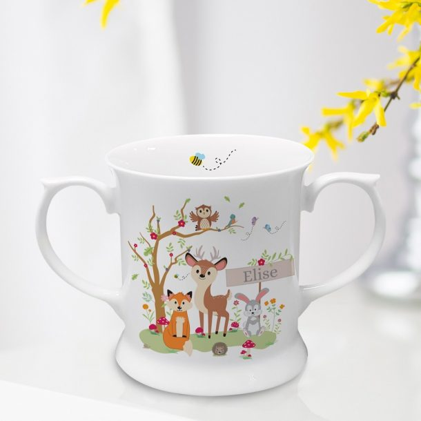 Personalised Woodland Loving Cup