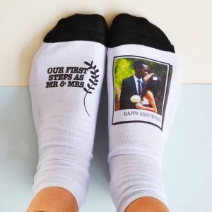 Anniversary Photo Socks