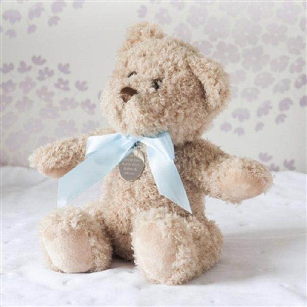 Personalised Baby Boy Bramble Bear