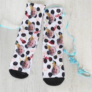 Personalised Birthday Face Photo Socks