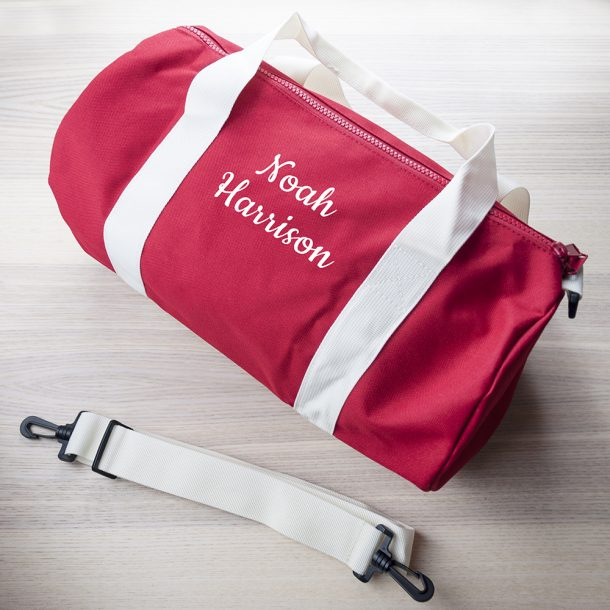 Personalised Boys Kit Bag