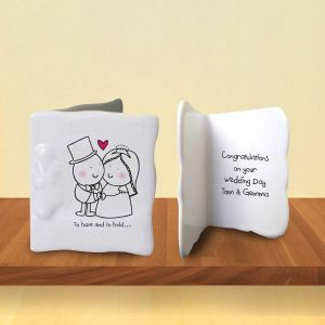 Personalised Chilli & Bubbles To Have & To Hold Message Card
