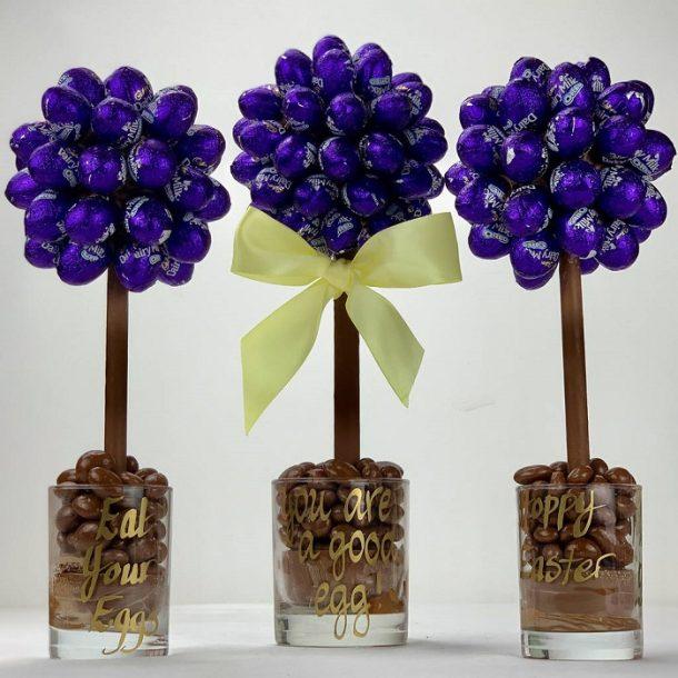 Personalised Daim Eggs Sweet Trees