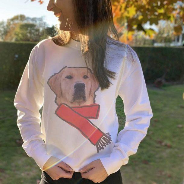 Personalised Dog Photo Jumper
