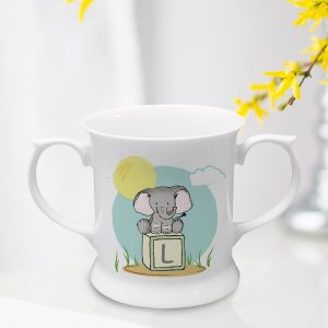 Personalised Elephant Safari Loving Cup