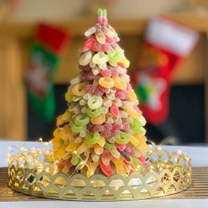 Personalised Fizzy Haribo Sweet Tower