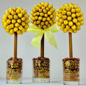 Personalised Galaxy Golden Eggs Sweet Trees