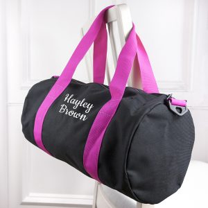Personalised Girls Sports Bag