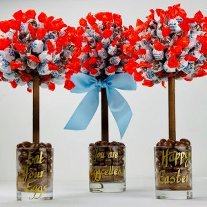 Personalised Kinder Choco Bon Sweet Trees