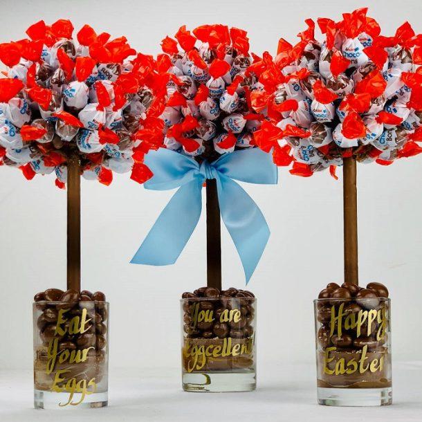 Personalised Kinder Choco Bon Sweet Trees