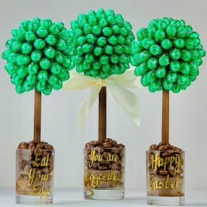 Personalised Lindor Mint Egg Sweet Trees