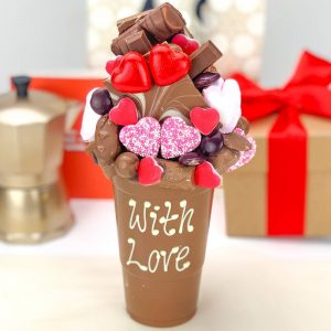 Personalised Love Milk Chocolate Smash Cup
