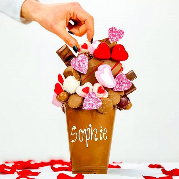 Personalised Love Milk Chocolate Smash Cup