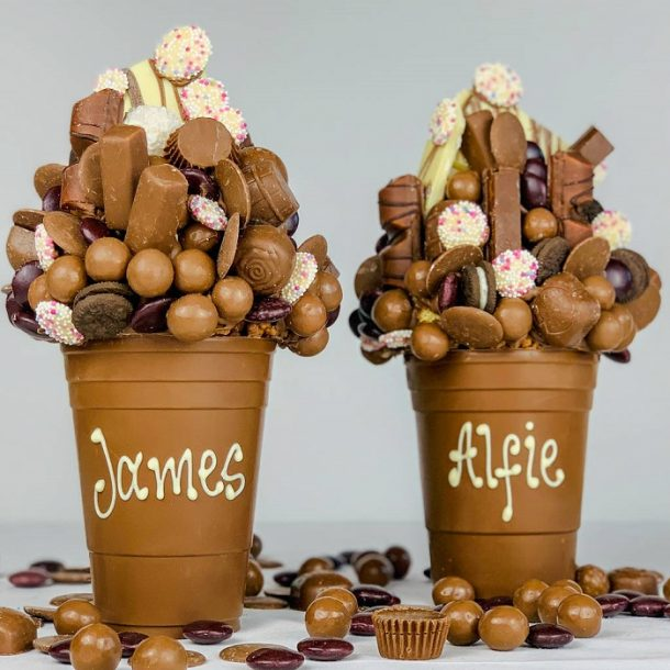 Personalised Milk Chocolate Smash Cup