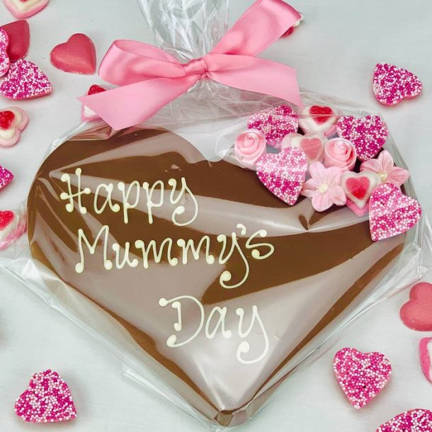 Personalised Mother's Day Belgian Chocolate Heart