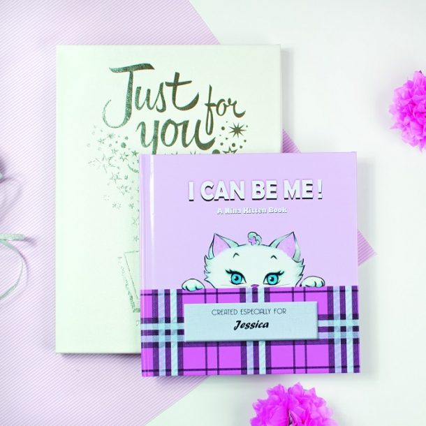 Personalised Nina Kitten Book