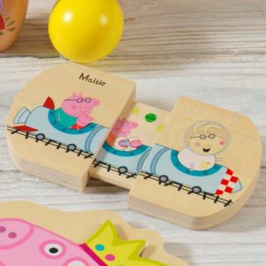 Personalised Peppa Pig Pull & Play Toy