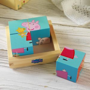 Personalised Peppa Pig Puzzle Blocks