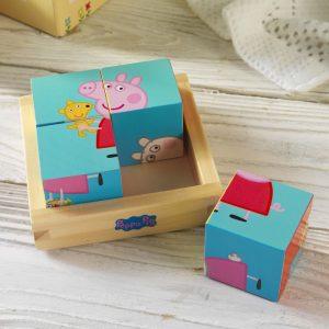 Personalised Peppa Pig Puzzle Blocks