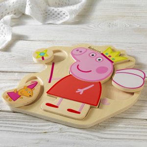 Personalised Peppa Pig Puzzle Tray Toy