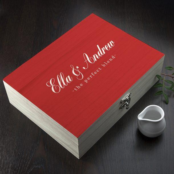 Personalised Perfect Blend Tea Box