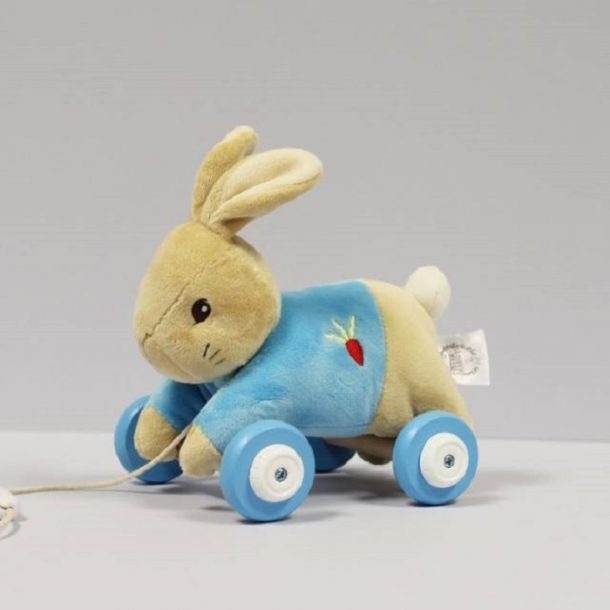 Personalised Peter Rabbit Pull Along Toy