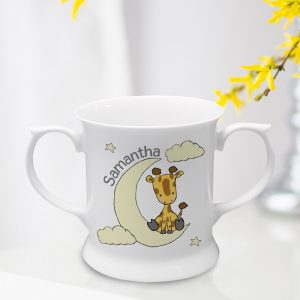 Personalised Sweet Dreams Giraffe Loving Cup