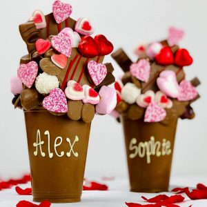 Personalised Valentines Milk Chocolate Smash Cup
