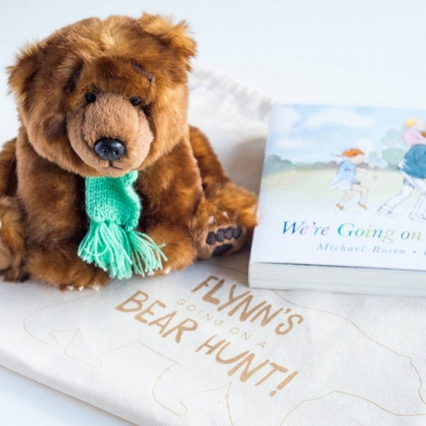 We're Going On A Bear Hunt Soft Toy & Book