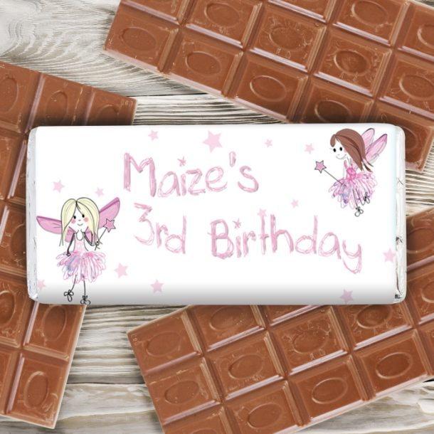 Personalised Fairy Milk Chocolate Bar