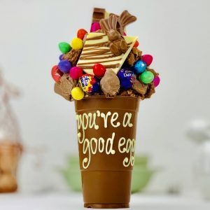 Personalised Funky Easter Chocolate Smash Cup