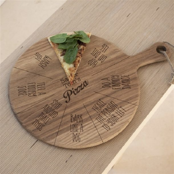 Personalised Kids Fun Slice Pizza Board