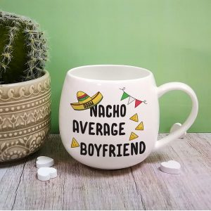 Personalised Nacho Average Boyfriend Mug