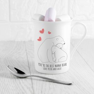 Personalised The Best Mama Bear Mug