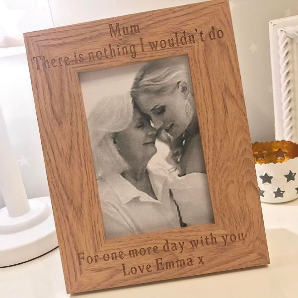 Personalised There Is Nothing I Wouldn't Do Photo Frame