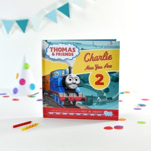 Personalised Thomas the Tank Engine Birthday Softback Book