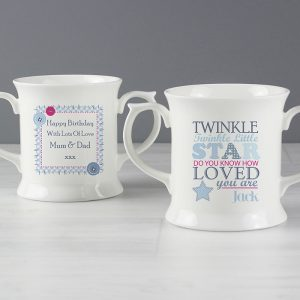 Personalised Twinkle Boys Loving Mug