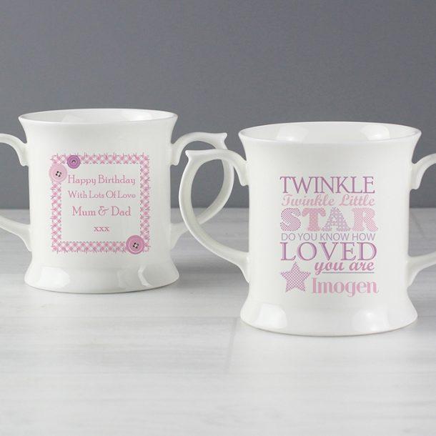 Personalised Twinkle Girls Loving Mug