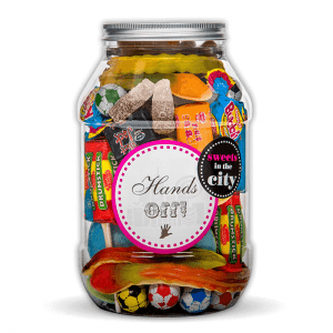 Personalised Hands Off Jar of Joy
