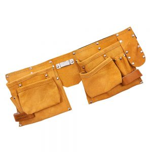 Personalised 11 Pocket Leather Tool Belt