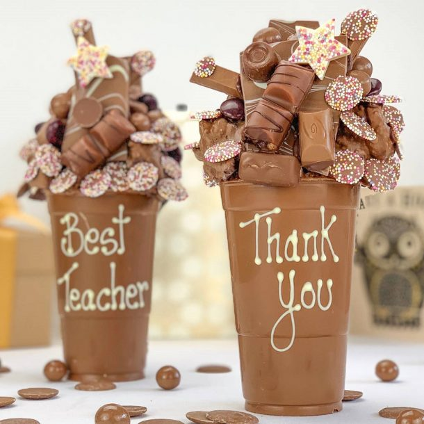 Personalised Thank You Chocolate Smash Cup